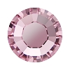 Swarovski 2038 Hot Fix Xilion Flatback Rhinestones SS5 Light Rose (1,440 Pieces)