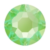 Swarovski 2078 Hot Fix Xirius Flatback Rhinestones SS16 Crystal Electric Green DeLite