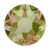 Swarovski 2078 Hot Fix Xirius Flatback Rhinestones SS12 Crystal Luminous Green
