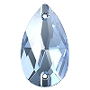Swarovski 3230 Pear Sew-On 18x10.5mm Light Sapphire   (72 Pieces)