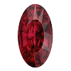 Swarovski 4162 Elongated Oval Fancy Stone 10x5.5mm Scarlet (144 Pieces)