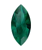 Swarovski 4228 Xilion Navette Fancy Stone 6x3mm Emerald Ignite (720 Pieces)