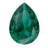 Swarovski 4320 Pear Fancy Stone 6x4mm Emerald Ignite (360 Pieces)