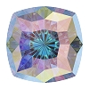 Swarovski 4460 Mystic Square Fancy Stone 14mm Crystal AB  (24 Pieces)