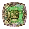 Swarovski 4460 Mystic Square Fancy Stone 10mm Crystal Luminous Green (48 Pieces)