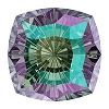 Swarovski 4460 Mystic Square Fancy Stone 10mm Crystal Paradise Shine (48 Pieces)