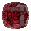 Swarovski 4460 Mystic Square Fancy Stone 10mm Scarlet (48 Pieces)