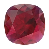 Swarovski 4470 Cushion Cut Square Fancy Stone 10mm Scarlet Ignite