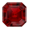 Swarovski 4480 Imperial Fancy Stone 6mm Scarlet Ignite (288 Pieces)