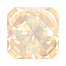 Swarovski 4499 Kaleidoscope Square Fancy Stone 6mm Crystal Ivory Cream DeLite (144 Pieces)