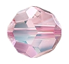 Swarovski 5000 Round Bead 4mm Light Rose Shimmer