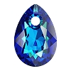 Swarovski 6433 Pear Cut Pendant 11.5mm Crystal Bermuda Blue (Protective Layer)