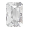 Swarovski 6435 Emerald Cut Pendant 16mm Crystal