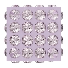 Swarovski 86401 Pave Cube Bead 8mm Light Amethyst