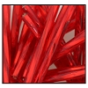 Twisted Bugle Bead #2403 25mm 97080 Red Transparent Silver Lined (1/2 Kilo) - CLEARANCE