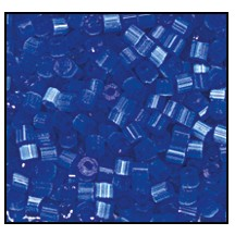 2 Cut Bead (2x) #2200 11/0 35061 Blue Satin (1/2 Kilo)