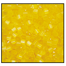 2 Cut Bead (2x) #2200 11/0 85011 Yellow Satin (1/2 Kilo)
