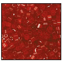 2 Cut Bead (2x) #2200 11/0 95081 Red Satin (1/2 Kilo) (LOOSE) - CLEARANCE