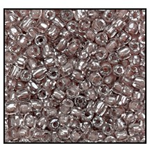 3 Cut Bead (3X) #2300 9/0 38617 Crystal/Tan Lined (1 Bunch) - CLEARANCE