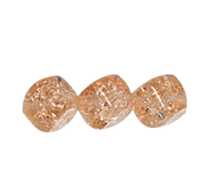 Crackle Cube Beads #4708 Rose 8mm (600 Pieces)