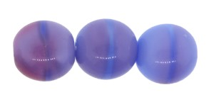 Ombre Druk Smooth Round Beads #4158 6MM Blueberry (1,200 Pieces)