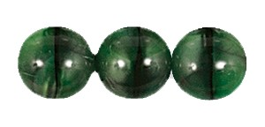 Ombre Druk Smooth Round Beads #4158 6MM Grey/Green (1,200 Pieces)