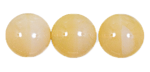 Druk Smooth Round Beads #4150 5mm Beige Opal (1,200 Pieces) - CLEARANCE