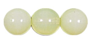 Druk Smooth Round Beads #4150 4MM Jonquil Opal (1,200 Pieces)