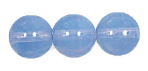 Druk Smooth Round Beads #4150 14MM Light Blue Opal (300 Pieces)