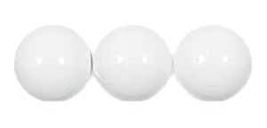 Druk Smooth Round Beads #4150 6mm Chalkwhite *BULK* (4,800 Pieces) (LOOSE) - CLEARANCE