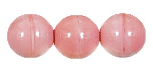 Druk Smooth Round Beads #4150 5mm Opaque Pink (1,200 Pieces) - CLEARANCE