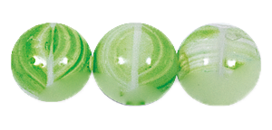 Druk Smooth Round Beads #4150 6MM Green Quartz (1,200 Pieces)