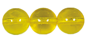 Druk Smooth Round Beads #4150 14MM Citrine (300 Pieces)