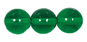 Druk Smooth Round Beads #4150 6MM Kelly Green (1,200 Pieces)