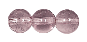 Druk Smooth Round Beads #4150 12MM Light Amethyst (300 Pieces)