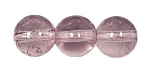 Druk Smooth Round Beads #4150 8mm Light Amethyst (600 Pieces) (LOOSE) - CLEARANCE