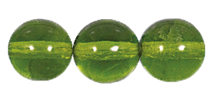 Druk Smooth Round Beads #4150 5mm Olivine (1,200 Pieces) - CLEARANCE