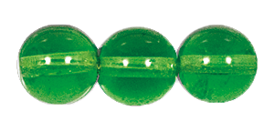 Druk Smooth Round Beads #4150 10MM Peridot (300 Pieces)