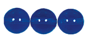 Druk Smooth Round Beads #4150 5mm Sapphire (1,200 Pieces) - CLEARANCE