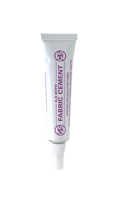 Hypo® Fabric Cement Glue 1/3oz Tube
