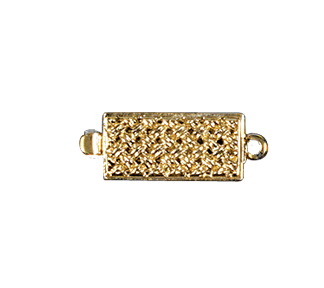 Clasps #6148 Gold 18mm 1 Row (12 Pieces)