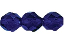 Round Fire Polished Bead #3150 5mm Dark Sapphire (1,200 Pieces) - CLEARANCE