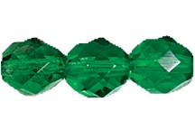 Round Fire Polished Bead #3150 5mm Emerald (1,200 Pieces) - CLEARANCE
