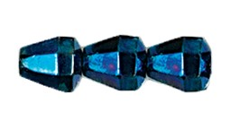 Pyramid Fire Polished Bead #3350 6.5x6mm Blue Iris (1,200 Pieces)