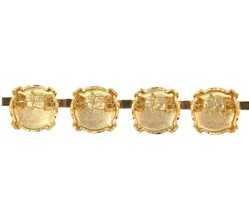 Bracelet Setting #7832 Gold for 1122 SS47 Stones (10 Pieces)
