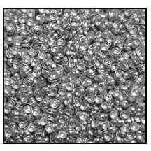 Calottes (Metallic Studs) #3901 #1 Aluminum (100,000 Pieces) - CLEARANCE - CLEARANCE