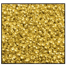 Calottes (Metallic Studs) #3901 #1 Gold (100,000 Pieces) - CLEARANCE