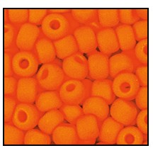 Seed Bead #2100 11/0 93140M Orange Opaque Matt (1/2 Kilo)