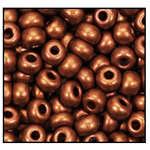 Seed Bead #2100 6/0 01750 Dark Bronze Metallic Matt (1/2 Kilo)