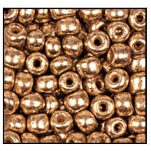 Seed Bead #2100 10/0 18305 Gold Metallic (1/2 Kilo)